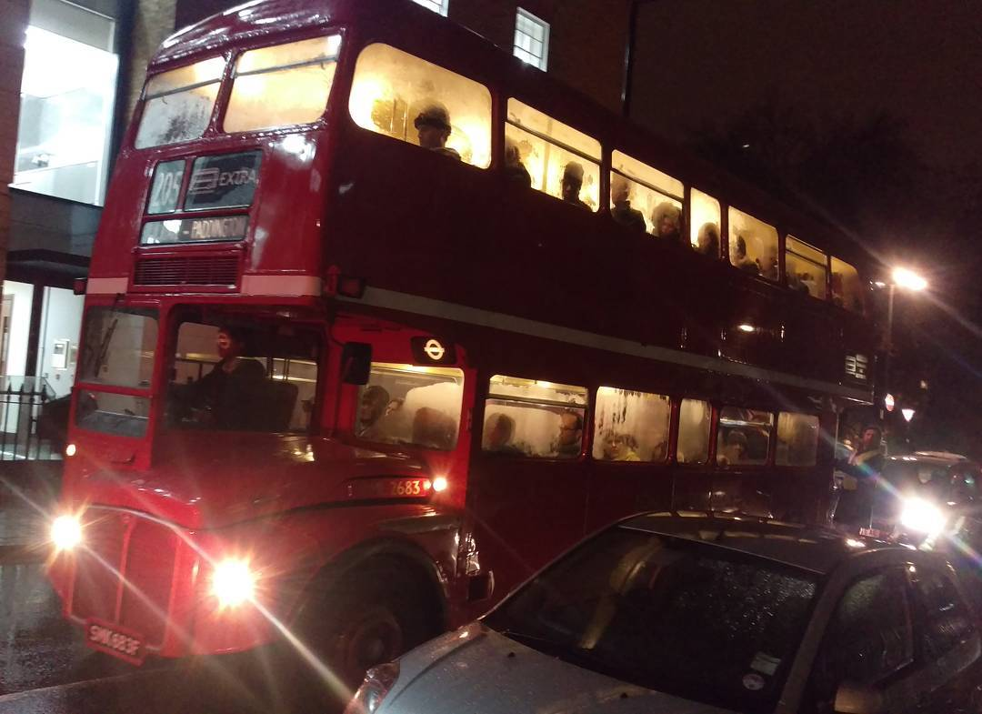 Back in time with a Routemaster in service on London's roads. #TubeStrike #london #retro #bus #classic #transport